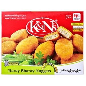 KNs-Chicken-Haray-Bharay-Nuggets-270-Grams (Chicken nuggets)